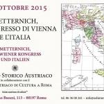 Metternich, il Congresso di Vienna e l'Italia