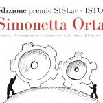 """Prima edizione Premio SISLav-ISTORECO """"Simonetta Ortaggi"""""""