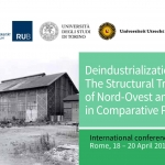 Deindustrialization: The Structural Transformation of Nord-Ovest and the Ruhr in Comparative Perspective