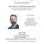 Weber e la Riforma protestante