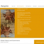 Dottorato in Global History & Governance
