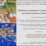 Cultura europea versus stereotipi: un laboratorio italo-tedesco