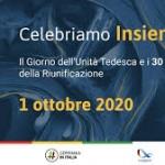 Celebriamo Insieme… il Giorno dell'Unità Tedesca e i 30 anni della Riunificazione