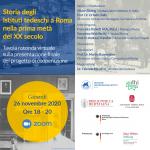 Storia degli istituti culturali e di ricerca tedeschi a Roma nella prima metà del XX secolo