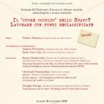 """Seminario """"Il 'cuore occulto' dello Stato? Lavorare con fonti declassificate"""" – 30 novembre 2020"""