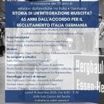 Storia di un'integrazione riuscita? 65 anni dall'accordo Italia-Germania