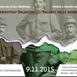 Soldati delle minoranze: etnicità e identità negli eserciti della prima guerra mondiale