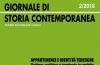 """Giornale di storia contemporanea – 2/2018 – sezione monografica su """"Appartenenze e identità tedesche"""""""