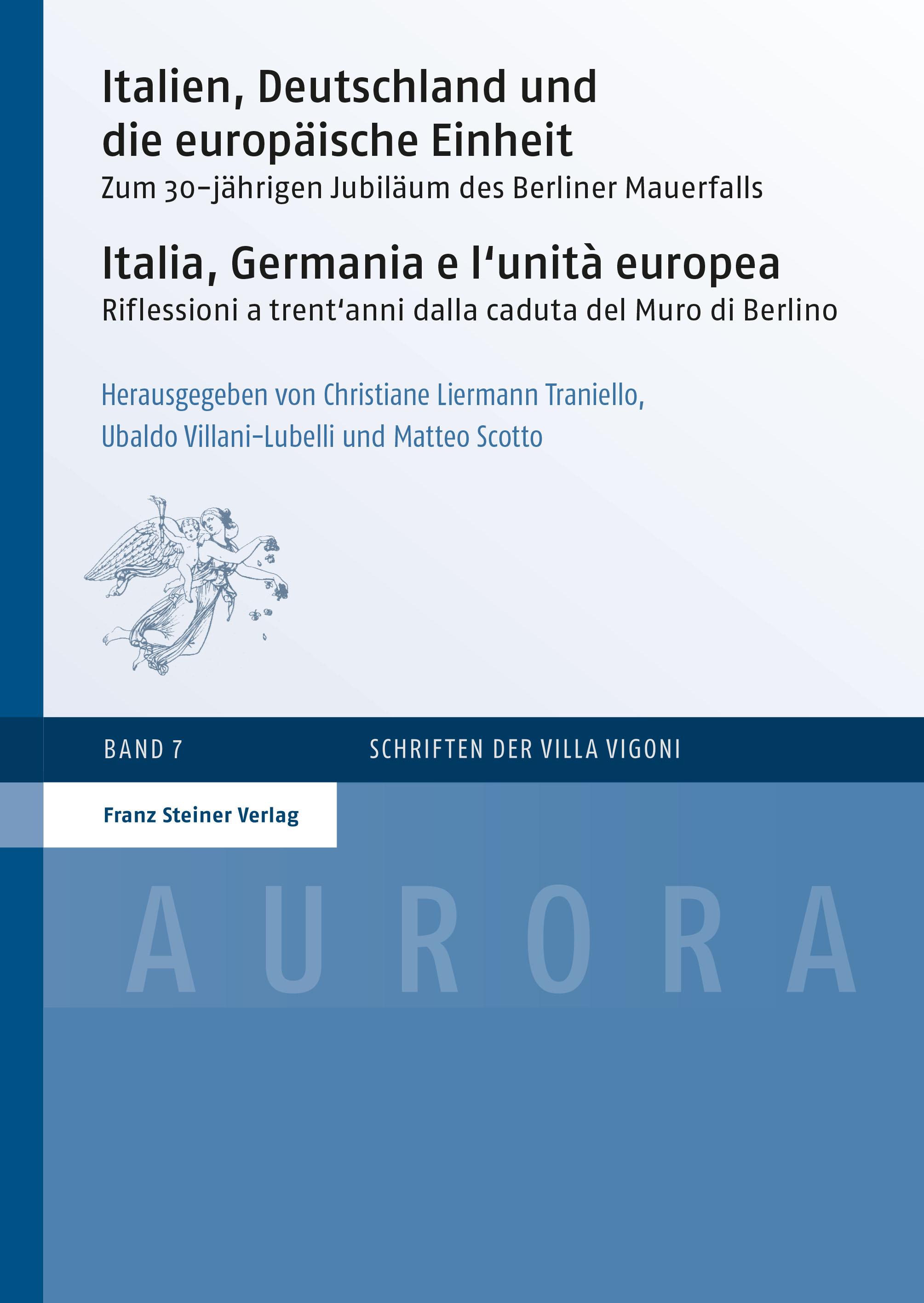 Italia Germania e l'Unità Europea