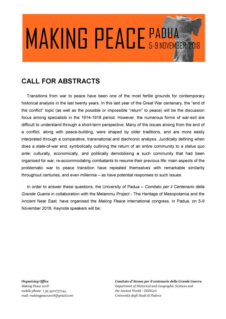 CALL FOR ABSTRACTS MAKING PEACE 2018-page-001