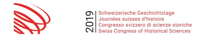 Logo Schweizer Geschichtstage 2019 2