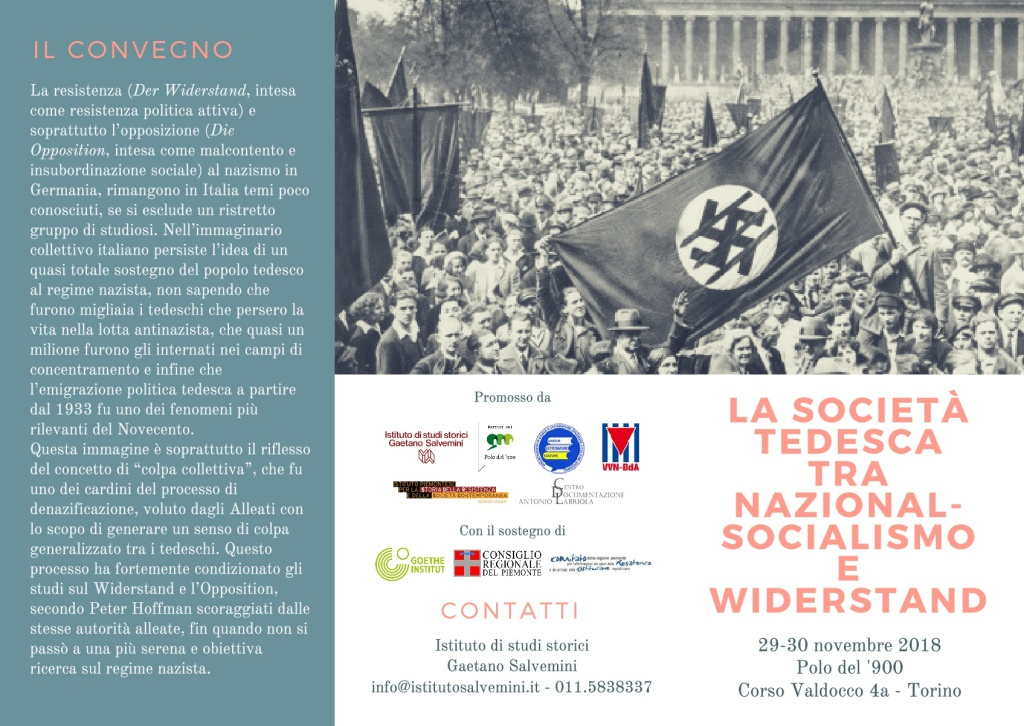 Convegno TO Widerstand 1