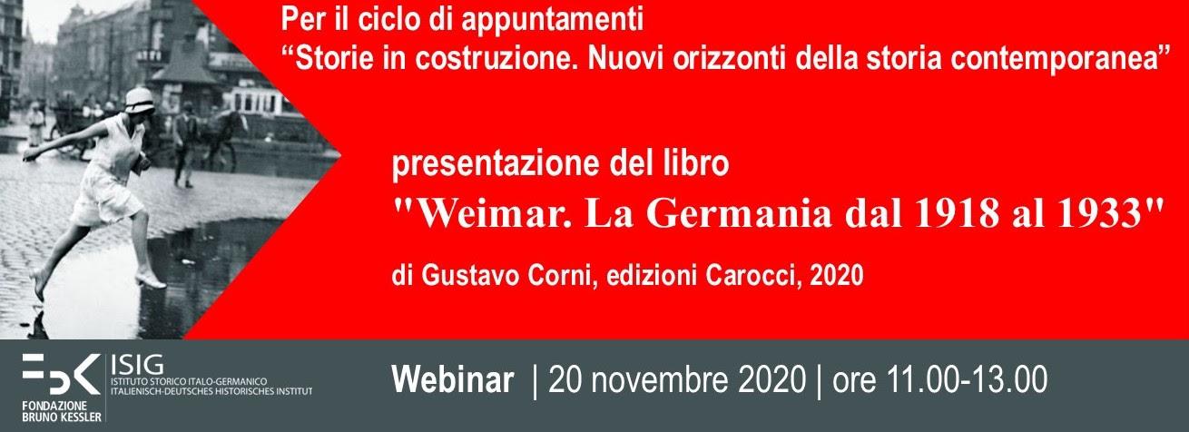 Presentazione Weimar Corni